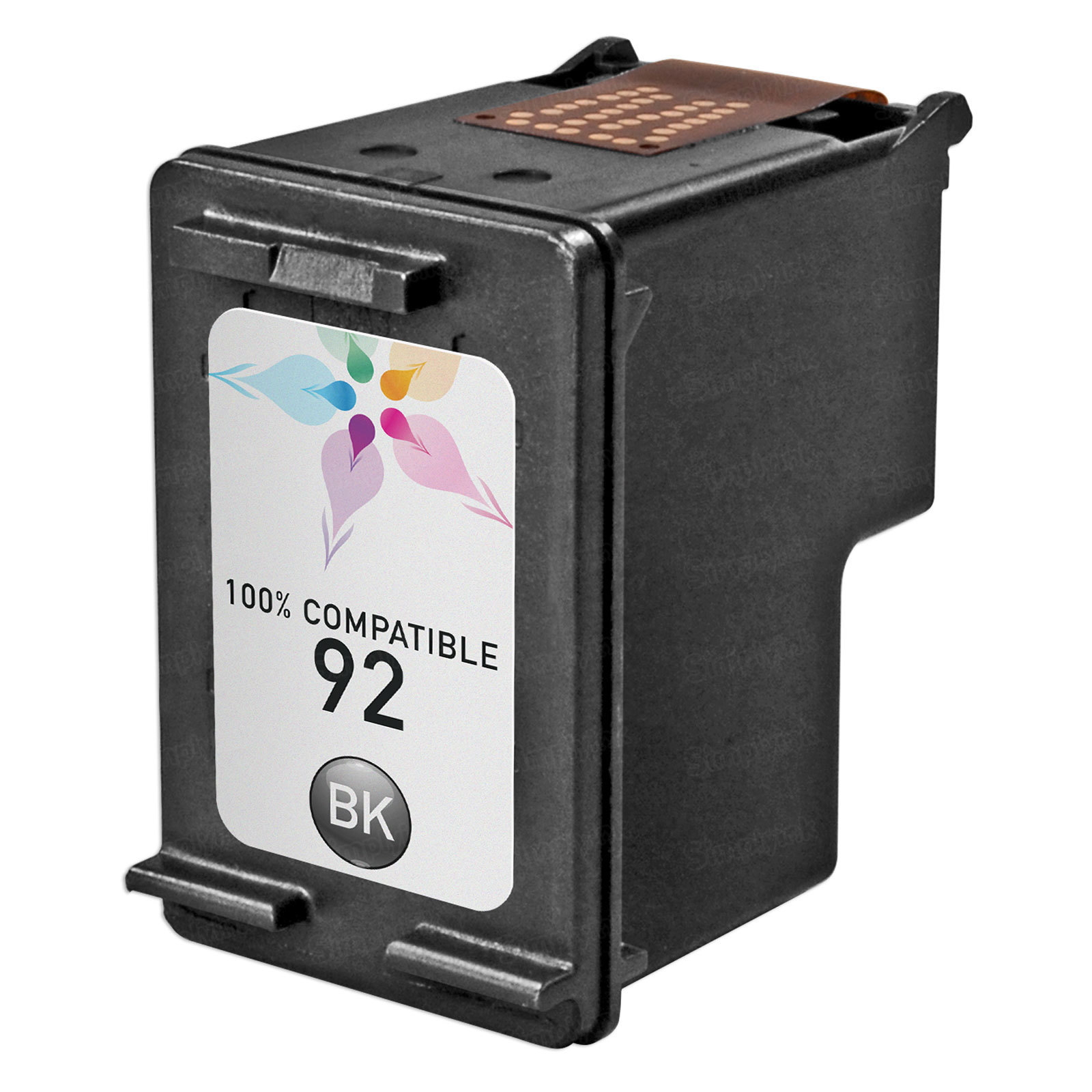 Remanufactured Replacement Black Ink for HP 92