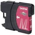 Brother LC65M Magenta OEM High-Yield Ink Cartridge