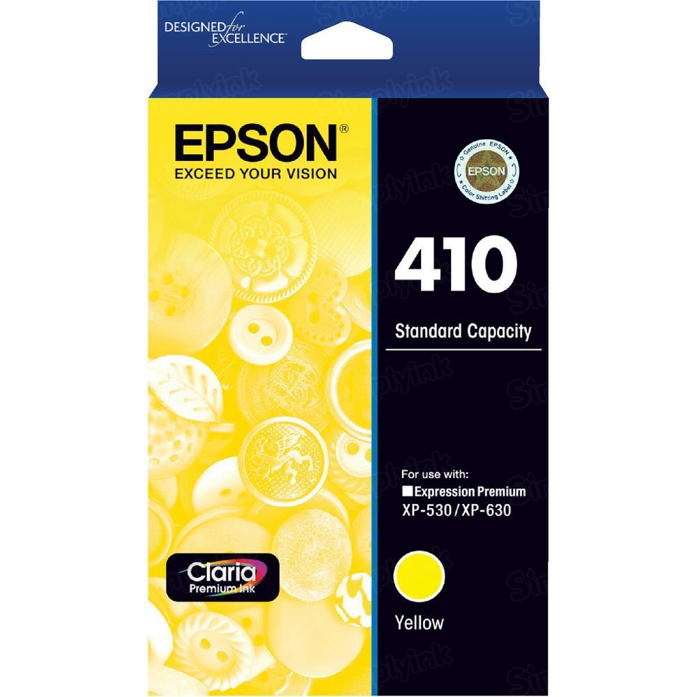 OEM 410 Yellow Ink for Epson