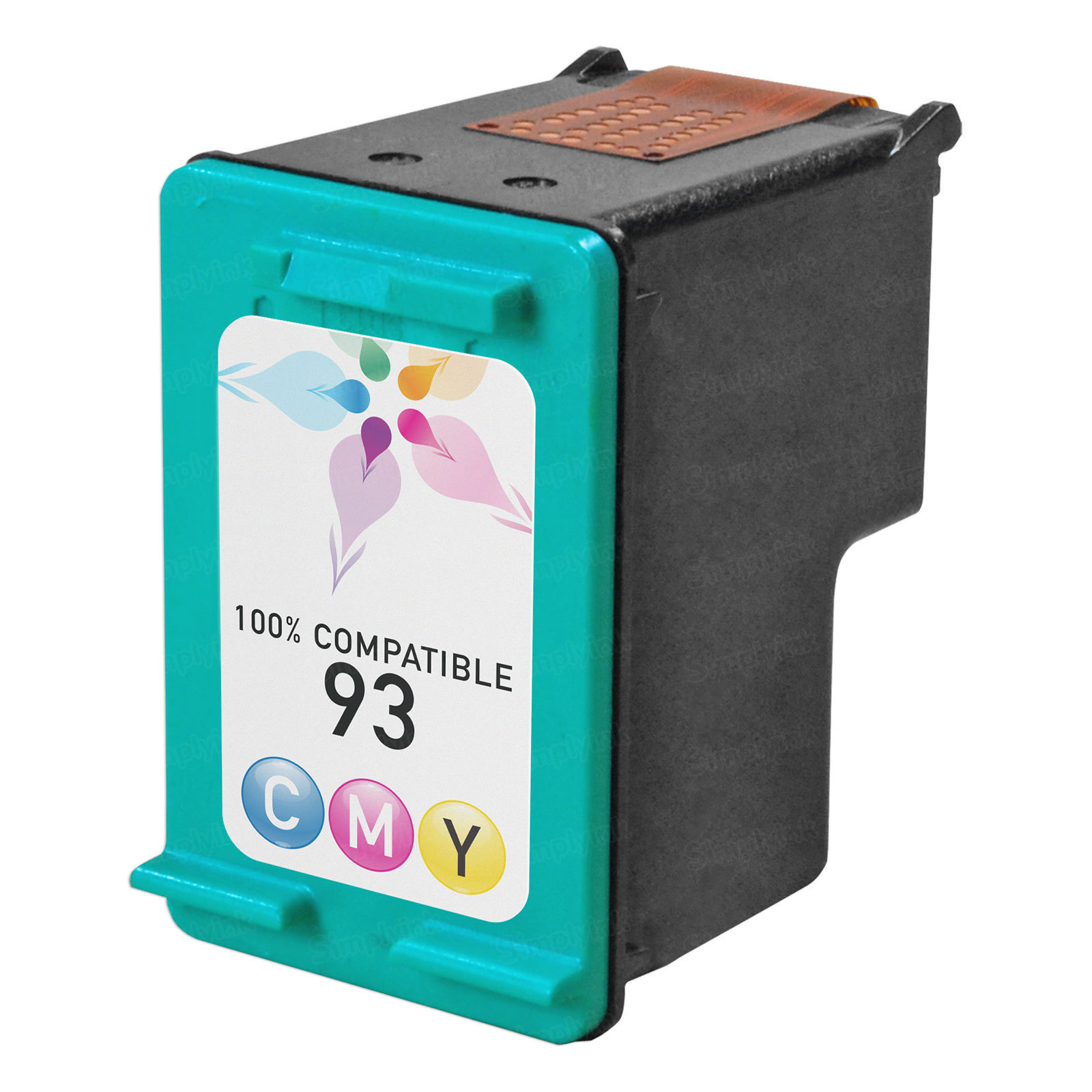 Remanufactured Replacement Tri-Color Ink for HP 93