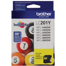 OEM LC201Y for Brother Yellow Ink Cartridge