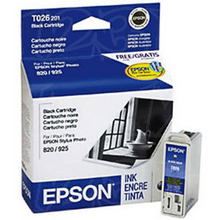 Original Epson T026201 Black Inkjet Cartridge (T026)