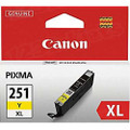 Canon CLI-251XLY Yellow OEM Ink Cartridge