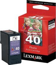 Lexmark #40 Photo Inkjet Cartridge, OEM 18Y0340