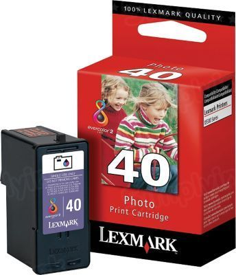 Lexmark 40 Photo OEM Ink Cartridge (18Y0340)