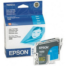Original Epson T034220 Cyan Inkjet Cartridge (T0342)