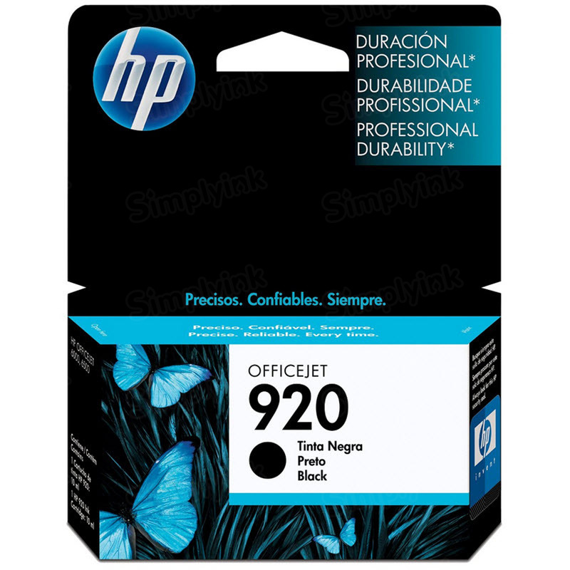 HP 920 Black Original Ink Cartridge CD971AN