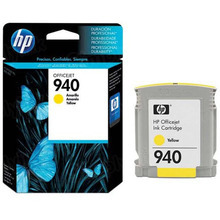 Original HP 940 Yellow Ink Cartridge in Retail Packaging (C4905AN)