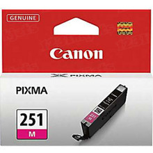 Canon CLI-251M Magenta OEM Standard-Yield Ink Cartridge, 6515B001