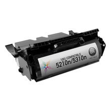 Refurbished Dell HD767 Black Toner for 5210n, 5310n Laser Printers, 20K Yield